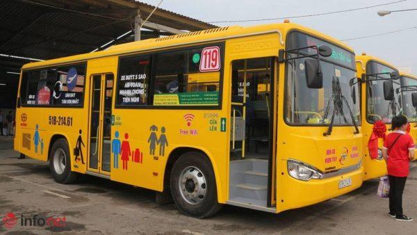 Xe buýt 119 Tân Sơn Nhất