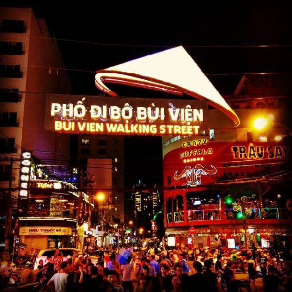 Bui Vien walking street must-see places in Saigon