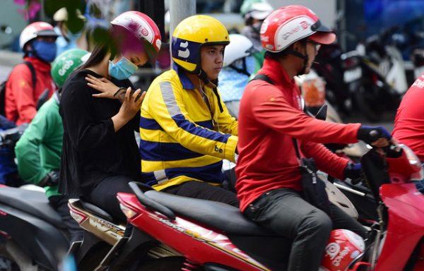 Technologie-Fahrrad in Vietnam