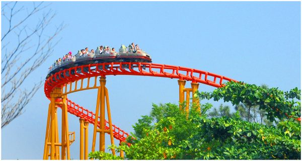 Roller coaster - an unforgettable experience