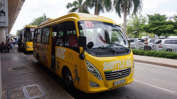 SGN 出發的巴士路線